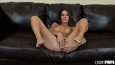 Kortney Kane wishes she was riding a rigid piece of thick schlong