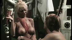 Legendary actress Lee Caroll is a mighty bitch with big appetite for penises