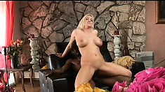 Bonny mature floosie with awesome knockers gets access to BBC