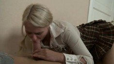 Hear Fantine scream as her tight ass takes a painful ramming