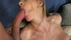 Roxanne Hall puts her superb body on display and gets double penetrated