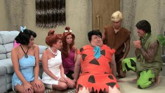 The Flintstones liked sex too and get ready to nail their ladies in a parody