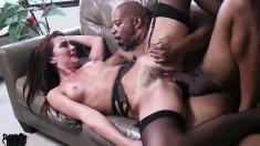 Black stallion Shane Diesel gives Bianca Breeze the fuck she deserves
