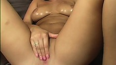 London Keys sucks a big dick and spreads her hot legs to take it deep in her pussy