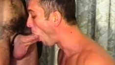 Patrick Ives Pleases His Own Cock While Paul Carrigan Pounds His Ass