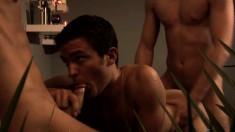 JP, Billy Rubens and Lucas Davidson hook up for a steamy sex adventure