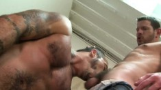 Stunning young fucker begs to get his tight butt plowed hard