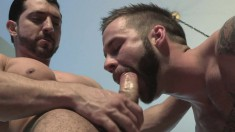 Kinky Guy Has His Lustful Gay Lover Devouring And Pounding His Butt
