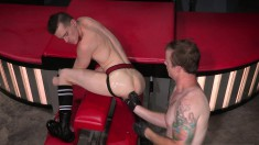 Naughty hot guy wants to have his behind penetrated and licked
