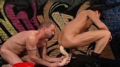 Hot Boys Play With Big Dildos And Explore Their Fisting Fetish Fantasy