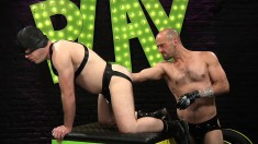 Masked Hunk Invites His Lustful Gay Lover To Fist His Juicy Ass Deep