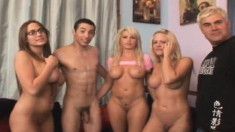 Stacked blonde slut Brooke Haven gets drilled nice and deep by Brian