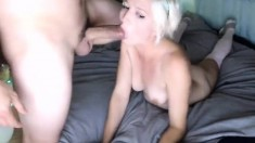 Blonde MILF And Hot Teen Suck Dick And Fucked Doggystyle