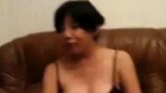 Mature Asian Woman Dressing On Cam - Stolen