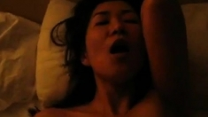 Nice asian milf with BBC pt. 2
