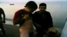 arab slut suck horny guys on the beach